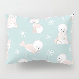ARCTIC FRIENDS (green) Pillow Sham