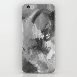 Soft Grey Abstract iPhone Skin
