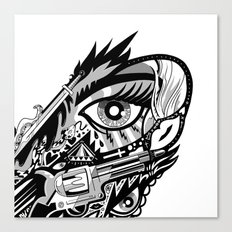 WINGED EYE Canvas Print