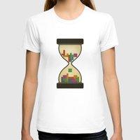 tetris T-shirts featuring tetris by gazonula