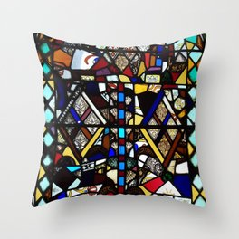 Beauty in Brokenness Andreas 4 Throw Pillow