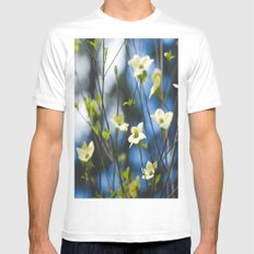 Dogwood Mens Fitted Tee White MEDIUM