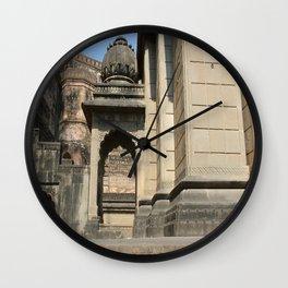 Palace in Maheshwar Wall Clock