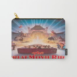 The Great Movie Ride Original Poster Carry-All Pouch