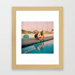 Post-life Narcissus Framed Art Print