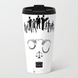Lawyer    The world inside your head  Travel Mug