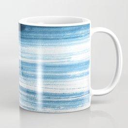 Abstract, Blue, Navy, Minimal, Trendy decor, Interior, Wall art, Photo Coffee Mug