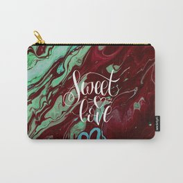 Sweet love Valentines day abstract gift Carry-All Pouch