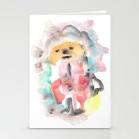 clown Stationery Cards featuring Clown by osile ignacio