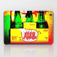 ale giorgini iPad Cases featuring Ale-8-One (6 Pack) by Silvio Ledbetter