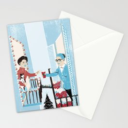 Happy Neighbor Stationery Cards