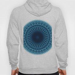 Mandala of Quantum Abundance (blue) Hoody