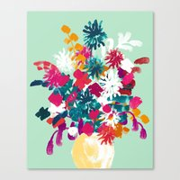 blush Canvas Prints featuring Blush by Picomodi