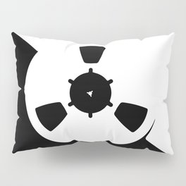 Abstract Reel of Tape Pillow Sham