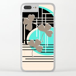 Saint Patrick, abstraction 2 Clear iPhone Case