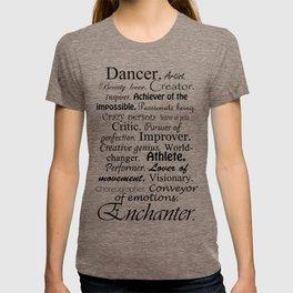 Dancer Description T-shirt