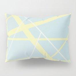 Crossroads ll - red graphic Pillow Sham