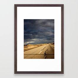 One of Life's Roads Framed Art Print