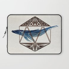 whale in the icosahedron Laptop Sleeve