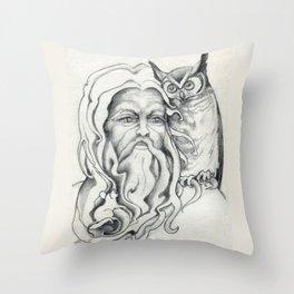 Endor The Wizard Throw Pillow