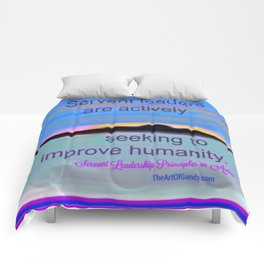 Servant Leadership in Action Comforters