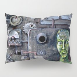 crazy horror techno sadness Pillow Sham