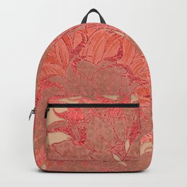 Sunflowers Sunset Garden Backpack