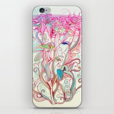 Floral clover iPhone & iPod Skin
