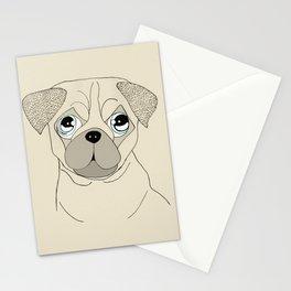 Pernicious Pug Stationery Cards