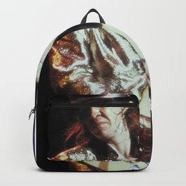 Vaughan guitar print Backpack