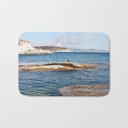 ROCKY ISLAND - Sardinia - Italy  Bath Mat