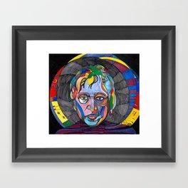 Psychedelic Lennon Framed Art Print