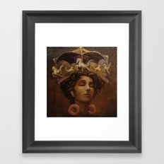 Brass Ring Dream Framed Art Print