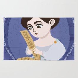 Women in science   Ada Lovelace, mathematician Rug