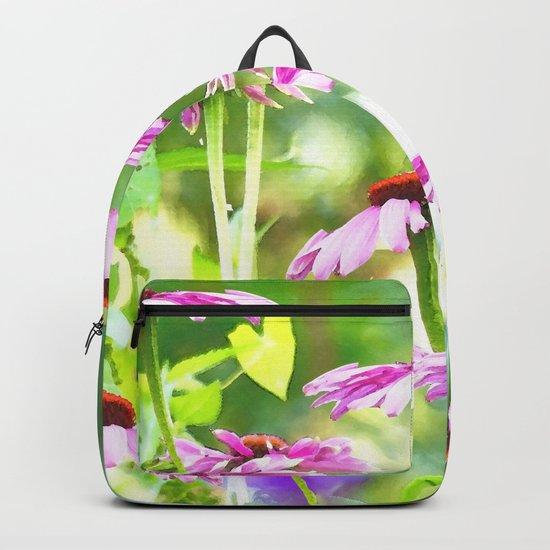 Wandering in the garden - summer mood Backpack