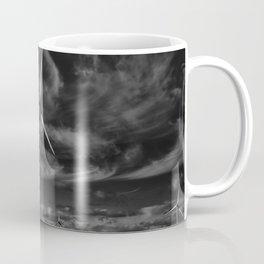 Wind Turbines #moody #blackwhite Coffee Mug