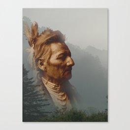 PioPio-Maksmaks - Walla Walla - American Indian Canvas Print
