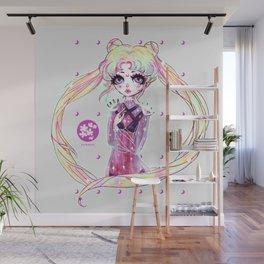 moon power ❤ usagi Wall Mural