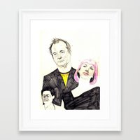 lost in translation Framed Art Prints featuring lost in translation by withapencilinhand