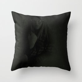 Spellcaster: Brimstone & Toxins II Throw Pillow