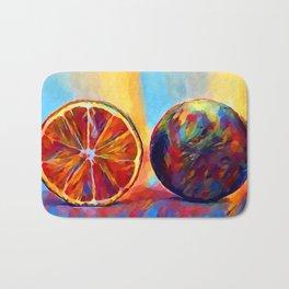 Citrus Fruit Bath Mat