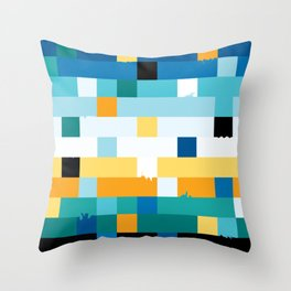 These little ruptures Throw Pillow