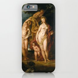 Peter Paul Rubens - The Judgment of Paris iPhone Case