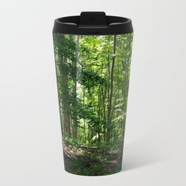 Pine tree woods Metal Travel Mug