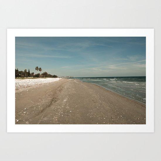 BEACH DAYS XXXI Art Print