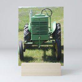 Crank Shaft Antique Tractor Mini Art Print