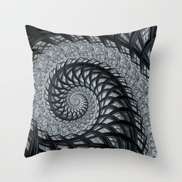 The Daily News - Fractal Art Throw Pillow