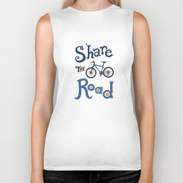 Share the Road Biker Tank