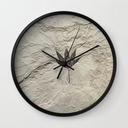 Nature - Leaf in our Past Wall Clock