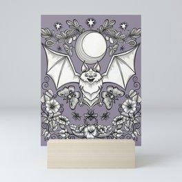 A Bat's Favorite Things Mini Art Print